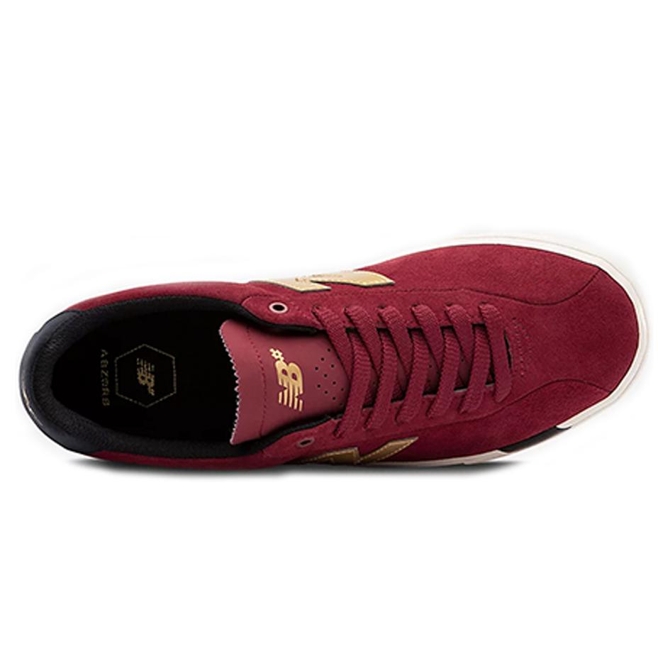 SOULIER NEW BALANCE 22 NUMERIC RED/GOLD