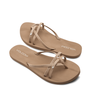 SANDALE VOLCOM  LOOK OUT BEACH TAN