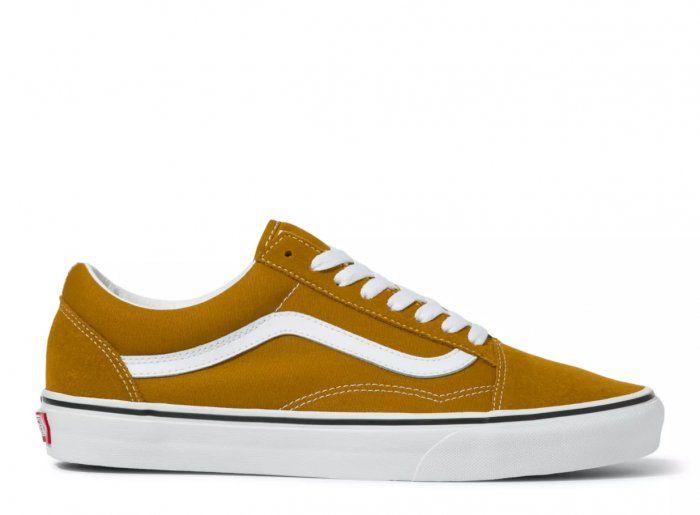 VANS SHOES OLD SKOOL - GOLDEN BROWN/TRUE WHITE   5-0 Boardshop